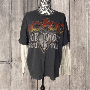AC/DC For Those About To Rock Tee Shirt Size 2XL